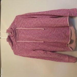 Gap Pink Heathered Sweater